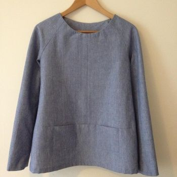 Merchant and Mills Top 64 by The Avid Seamstress