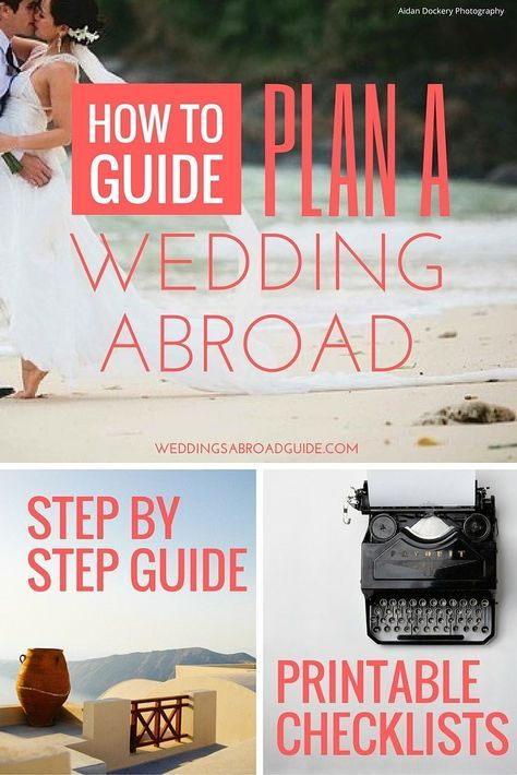 25 best ideas about destination wedding checklist on for How to start planning a destination wedding