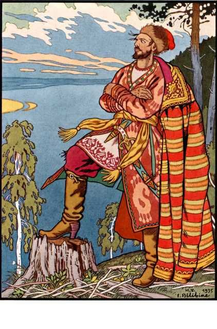 Ivan Bilibin - Imgur. Ivan Yakovlevich Bilibin was a 20th-century illustrator and stage designer who took part in the Mir iskusstva and contributed to the Ballets Russes. Throughout his career, he was inspired by Slavic folklore.