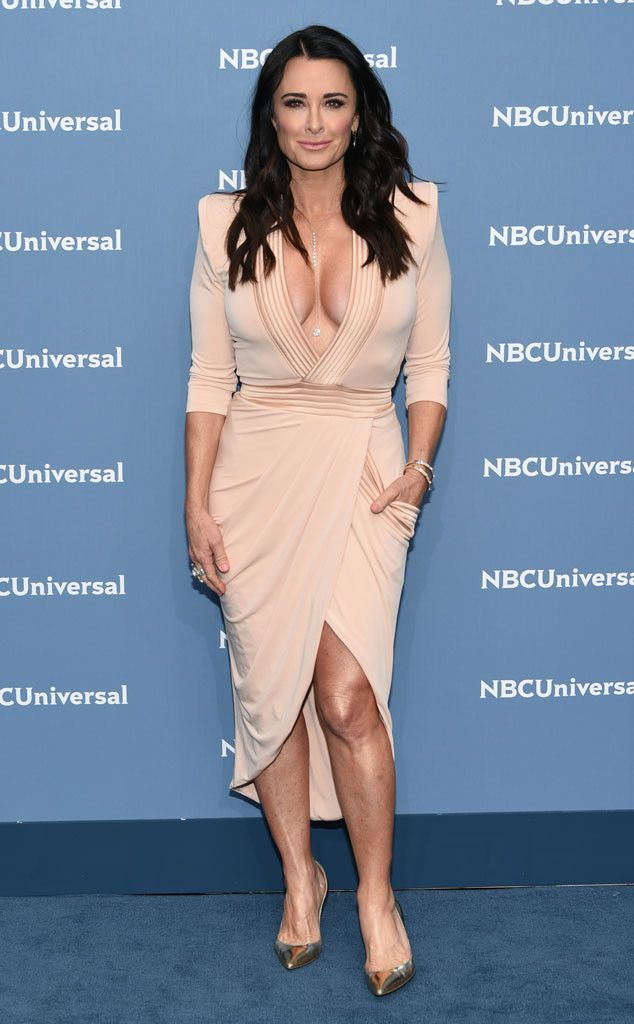 Kyle Richards from NBCUniversal Upfront 2016: Red Carpet Arrivals | E! Online