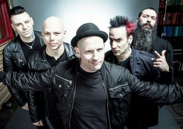 Stone Sour Hydrograd-cannot find a bad song Taipei person, St Marie, Song #3, whiplash pants..all good, all different