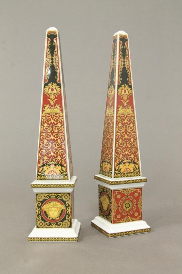 26 Best Versace Inspired Images On Pinterest: 7 Best Rosenthal Versace Obelisks Images On Pinterest
