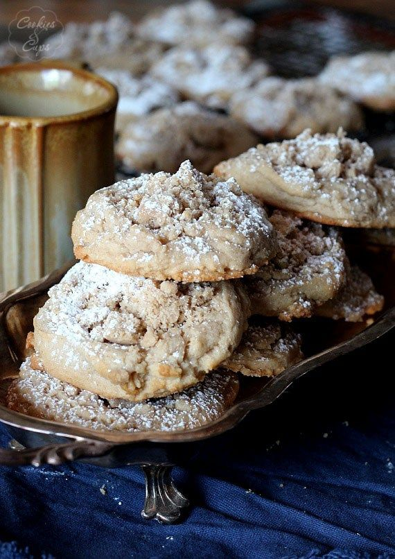 Coffee Cake Cookies are the perfect match to your morning cup of Community Coffee.