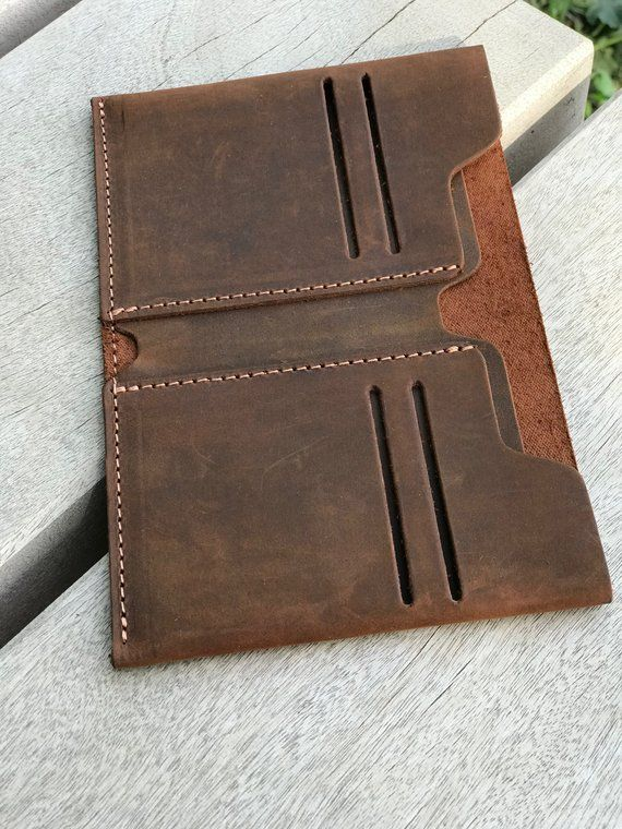 Wallet, Leather Wallet, Thin Wallet, Antiqued Leather Wallet, Minimalist Leather Wallet, Bifold Leather Wallet, Aged Leather Wallet