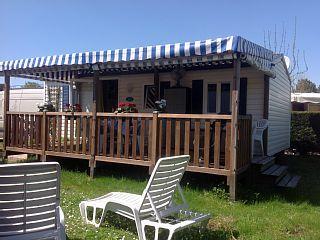 la+palmyre+mobilhome/8+fcouchages/terrasse+couverte+++Location de vacances à partir de Royan et environs @homeaway! #vacation #rental #travel #homeaway