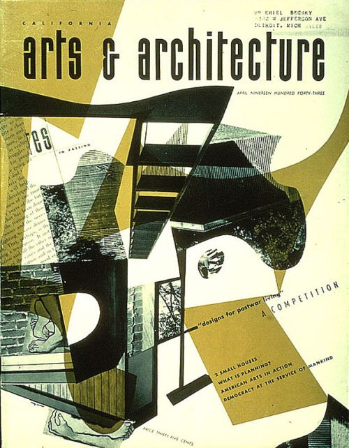 Theimportanceofbeingmodernist: U201cCover Girl: Arts And Architecture Magazine  Covers By Ray Eames  John Entenza Bought Arts And Architecture Magazine In  1938 ...
