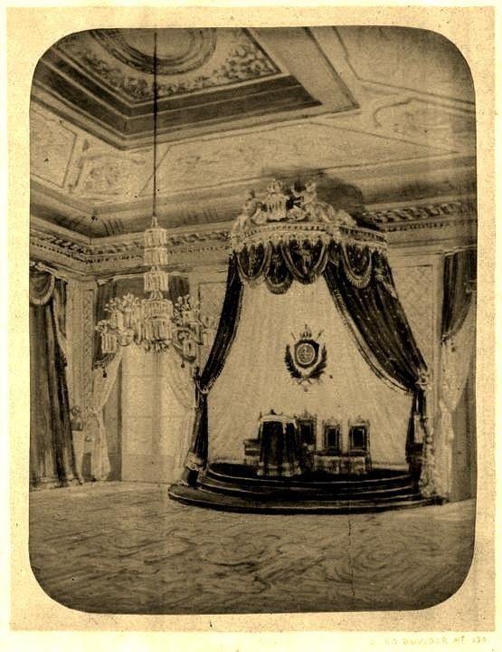 Antigo trono do Paço Imperial da Praça Quinze