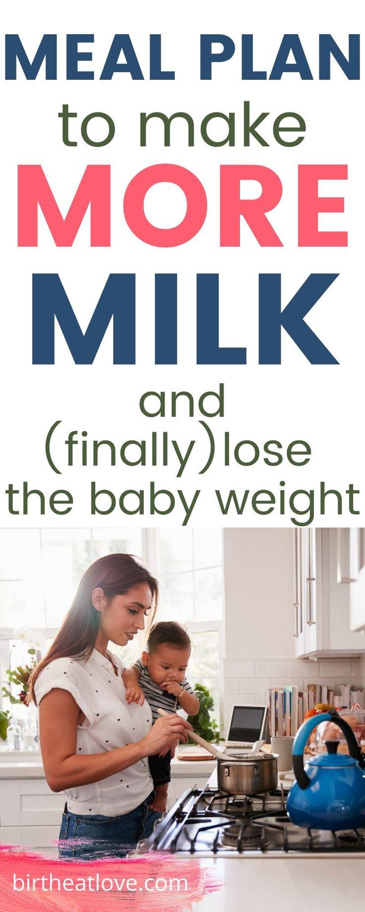 Breastfeeding meal plan for healthy mom baby birth eat