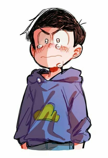 such manly tears but DONT CRY KARAMATSU