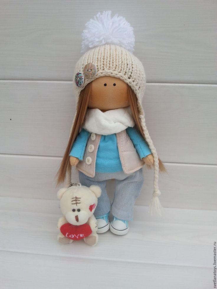 Купить интерьерная кукла - кукла ручной работы, комбинированный, кукла в подарок, кукла интерьерная