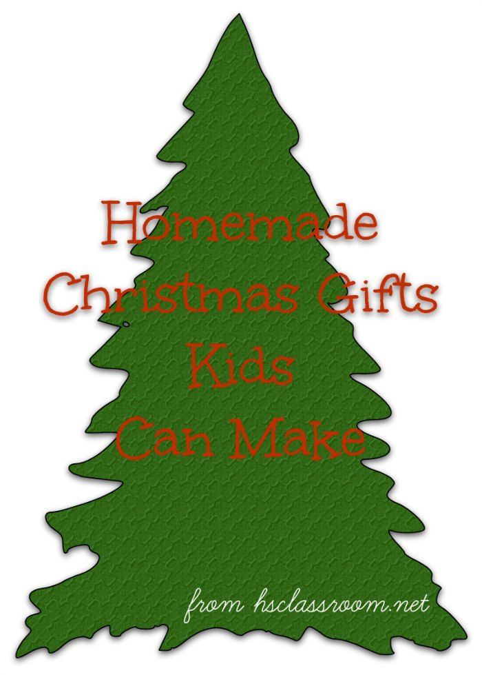 Easy and Inexpensive Ideas for Homemade Gifts Kids Can Make | Kids ...