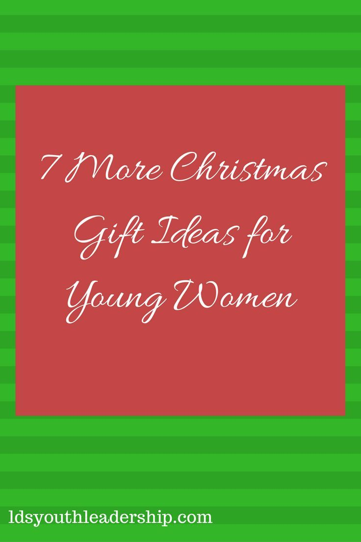 Best Christmas Gifts For Young Women Part - 27: Great Gift Ideas For LDS Young Women! Www.ldsyouthleadership.com