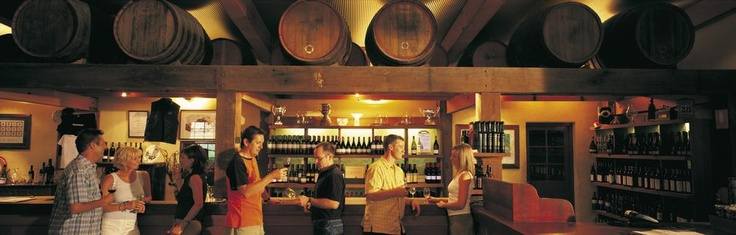 Bar design. Warmth, Ceiling. Yalumba Winery.