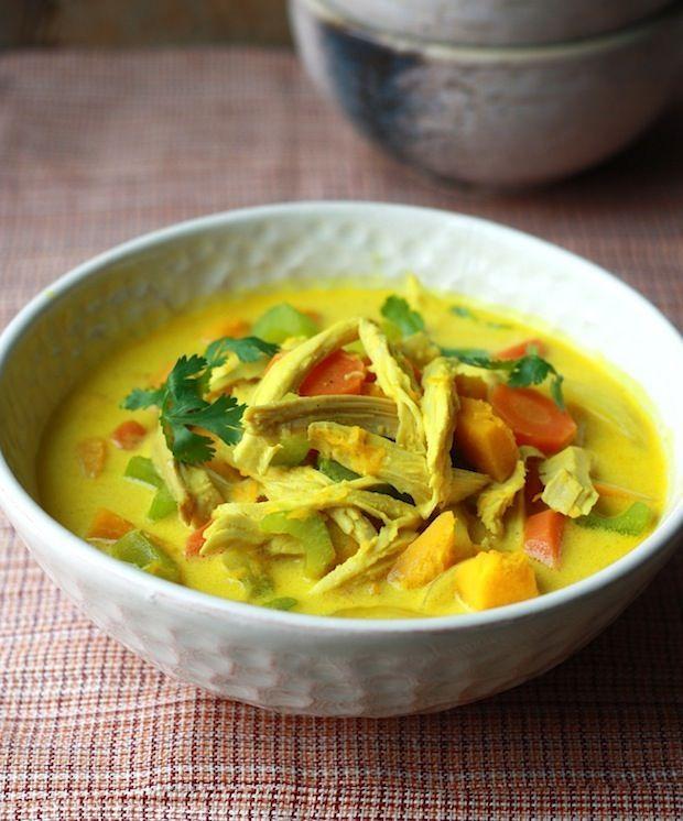 Coconut Turkey Curry recipe by SeasonWithSpice.com