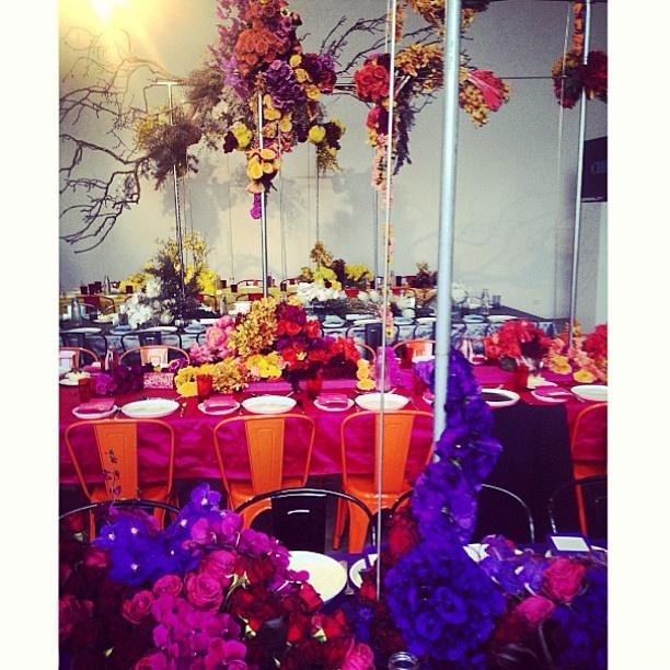 @official_swarovski @adamworling #grandiflora #sydney #events #flowers #installation #regram @sophiehartstyling — at Koskela Studios www.grandiflora.net