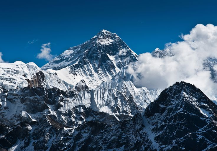 Located in the Himalaya mountains on the border between Nepal and Tibet, Mount Everest is the highest mountain in the world, and the highest spot on the earth's surface. (Source: sevennaturalwonders.org)