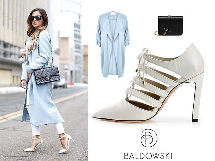 Get inspired with @baldowskiwb 🌸⭐️ #baldowski #baldowskiwb #polishbrand #shoes #shoeaddict #shoelovers #heelslovers #trendy #pastel #pastelblue #pantone2016 #fashioninspiration #fashionoutfit #streetwear #streetstyle #streetfashion #getthelook #getinspired #photooftheday #instagood