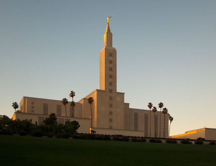 Los Angeles California: I visited the grounds as a child. Ryan drove by when getting his visa on his mission.