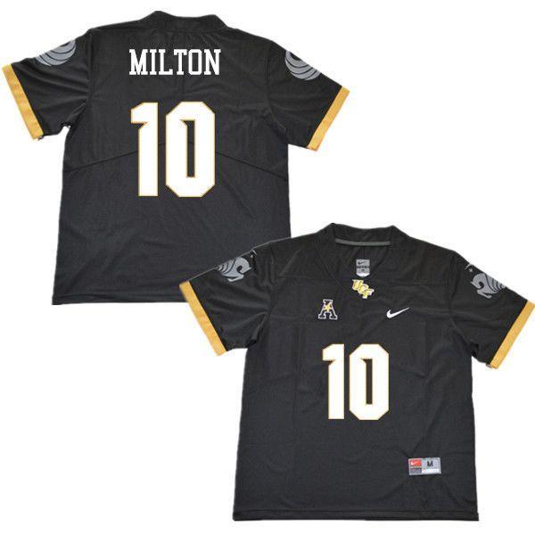 big sale f437d 2b8e0 UCF Knights McKenzie Milton #10 Football Jersey (Stitched ...