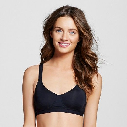 """The """"Eponine"""" [Style: TS-A001] is a lightly contoured and breathable sports bra that supports and shapes to give you an attractive silhouette even while you're working it out at the gym! With a soft elastic under band and an adjustable racer back with an eye-hook closure for an easy fit, this wireless bra can also be worn everyday or as a maternity bra! It is comfy and flattering—not flattening. This style is the perfect addition to the petite woman's i..."""