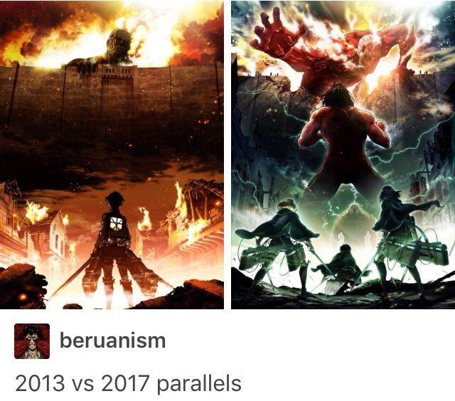 Wow. Such evolution. || Attack on Titan ♜