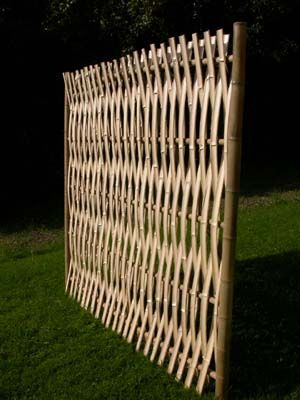Bamboo blinder ...blazing sun or unkempt yard this panel blocks any  eyesore