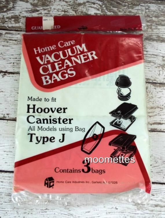 NEW Hoover Canister Vacuum Bags Fits All Models Type J Vac Style 21 Homecare #HomeCare #TypeJ