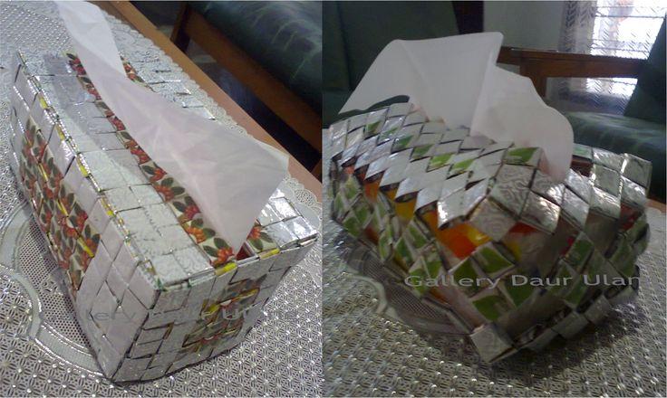 model tempat tisu