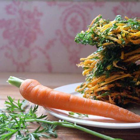 にんじんは葉っぱも旨い!葉付きにんじんのかき揚げレシピ