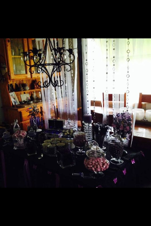 Candy Buffet Glitz and Glam