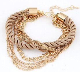 Keke Rope Bracelet - More Colors Available