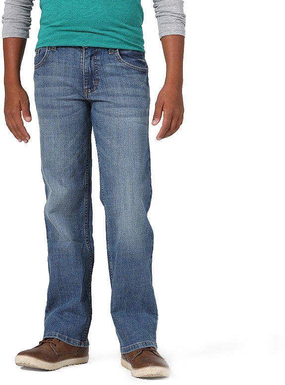 Wrangler Boys Big Straight Fit Stretch Jean