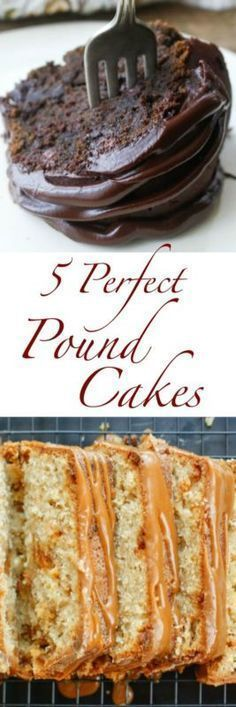 5 Perfect Pound Cakes   eBay