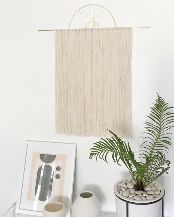 Wall Hangings Medium Oversized Wall Hanging Decor Over Bed