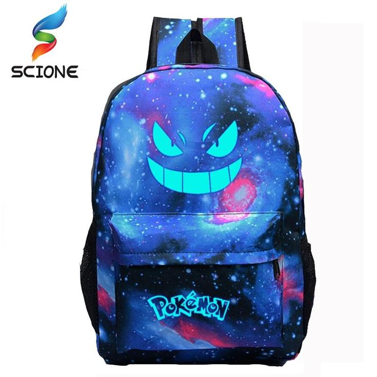 New Arrival -  Pokemon Backpack ... Check this out  http://sportsworldbymj.com/products/pokemon-backpack-luminous-glow-school-travel-sports-carry-back-pack-bag-6-color-choices?utm_campaign=social_autopilot&utm_source=pin&utm_medium=pin
