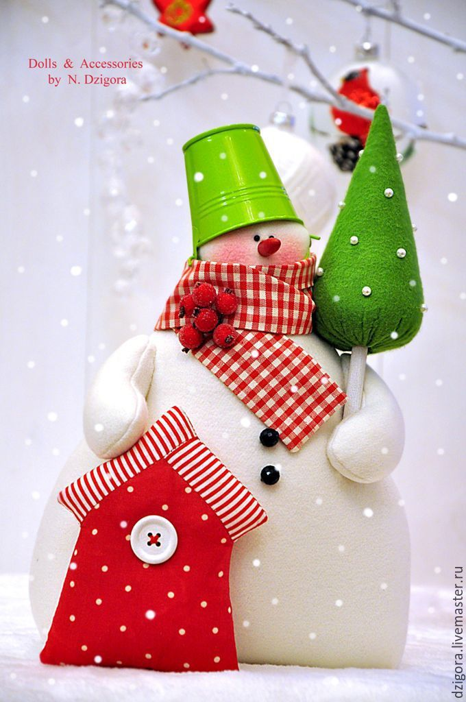 Купить Волшебный снеговик - снеговики, снеговик, снеговичок, снеговик тильда…