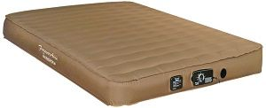 This air mattress is great for Truck Beds, RVs, Guest Beds, Camping and Sofa Sleepers.   Sleepers can customize their sleep environment at the touch of a button.