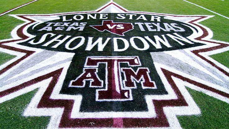 Lone Star Showdown A&M Field Logo (With images) Texas