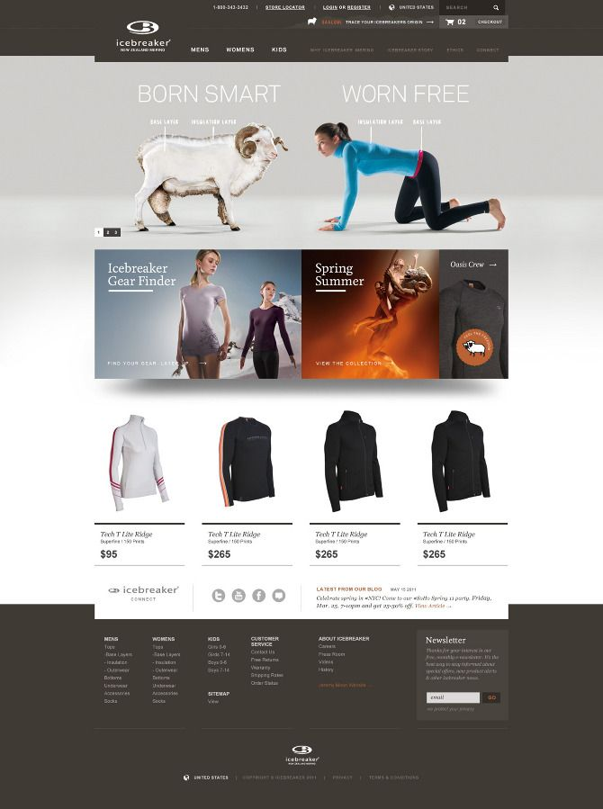 Web design inspiration | #348