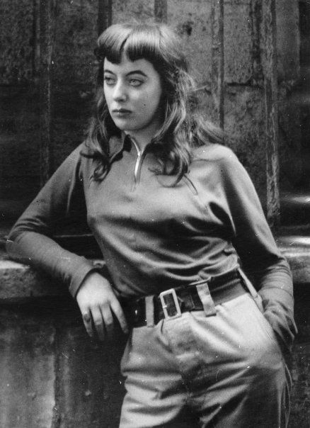 Vali Myers (2 August 1930 – 12 February 2003) was an Australian artist who specialized in fine pen and ink drawings. Photo by Ed Van Der Elsken