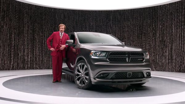 "Ron Burgundy's influence goes far beyond the confines of San Diego. After the ""Anchorman"" character created by Will Ferrell became the spokesman for the 2014 Dodge Durango, sales of the re-engineered vehicle climbed a whopping 59 percent in October and … Continue reading →"