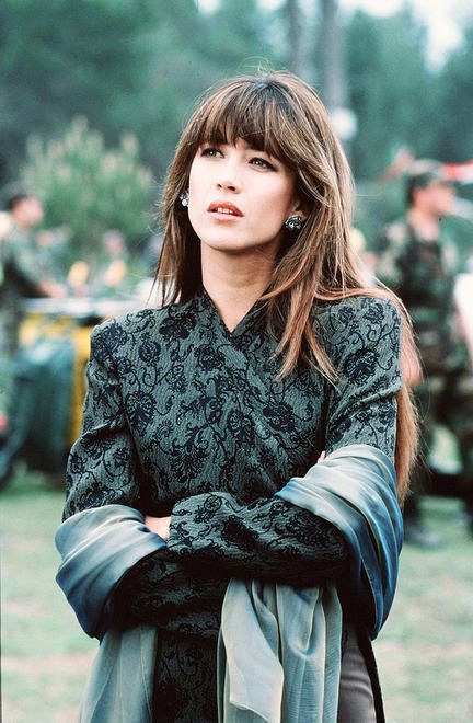 the ever-lovely Sophie Marceau, who is married to Raiden (Christopher Lambert) from Mortal Kombat.