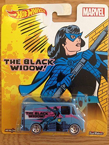 NEW Combat Medic Black Widow Marvel Pop Culture Real Riders Hot Wheels Diecast >>> You can get more details by clicking on the image.