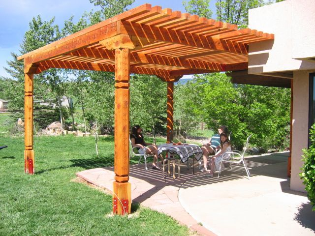 46 Best Pergolas Images On Pinterest Patio Ideas