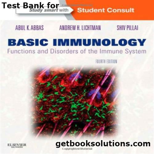 17 best test bank images on pinterest manual textbook and user guide test bank for basic immunology functions and disorders of the immune system 4th edition by abbas fandeluxe Images