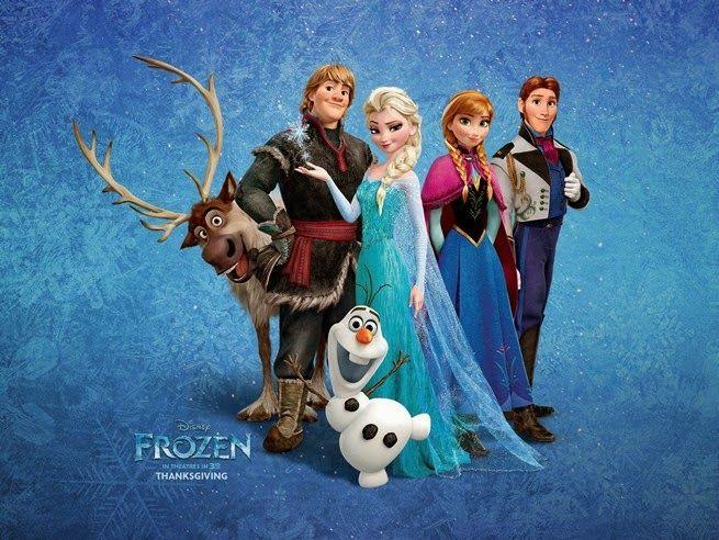 Trailer Frozen una aventura congelada. Sven y Olaf en acción.