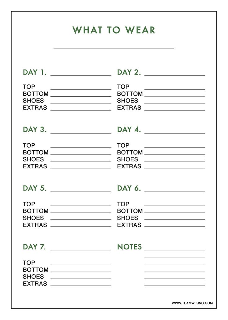 Do you remember when I shared this printable travel checklist? It's nice to have if you know what clothes you are already packing, but what if you don't? Today I'm sharing a printable outfit planner you can use to plan outfitsfor a trip, or week by week in your normal wardrobe. Click here, or onRead More