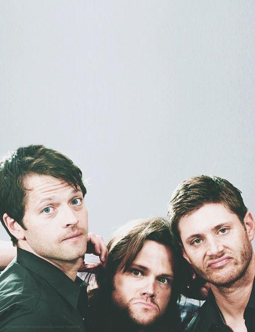 Misha Collins, Jared Padalecki, Jensen Ackles | One ...