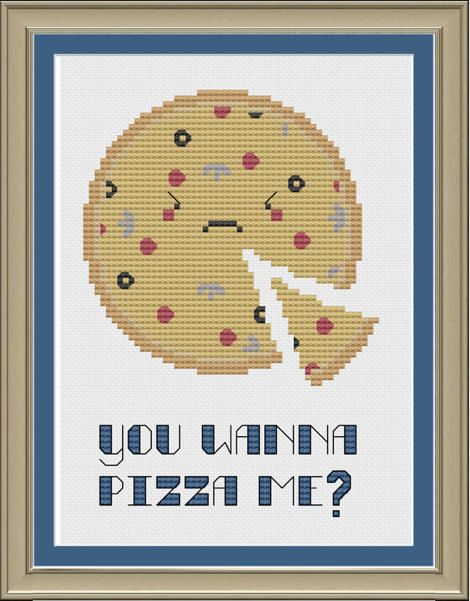 Hey, I found this really awesome Etsy listing at http://www.etsy.com/listing/156992965/you-wanna-pizza-me-funny-cross-stitch