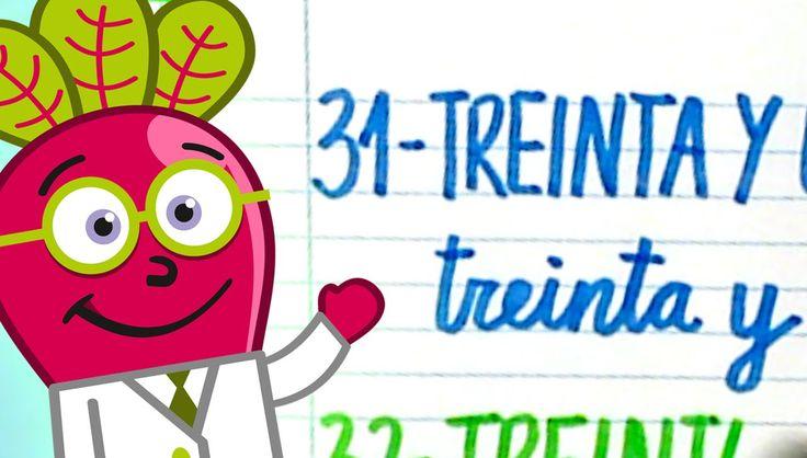 #numeros #para #niños #nivel #inicial #pequeños #hastael40 #escritos #infantil #y #letras #ordinales #actividades #numbers #spanish #31to40 #recursos #educativos #didacticos #educational #resources